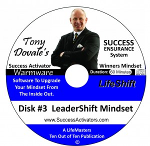 CD warmware SAD3a leadershift master